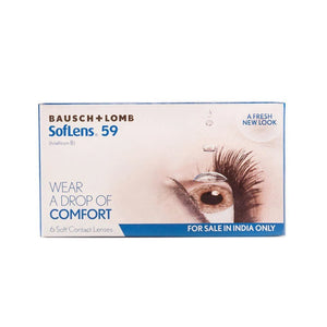 Bausch & Lomb Soflens 59 Monthly Disposable Contact Lenses (6lenses / Box) SL59 / SL-59 / SL 59