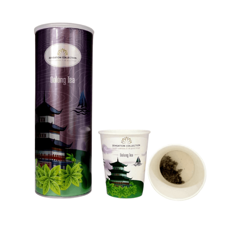 Luxury Zensation Oolong Tea Canister