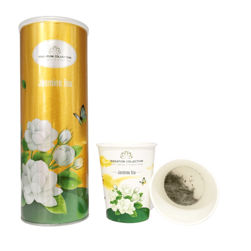 Luxury Jasmine Tea Canister