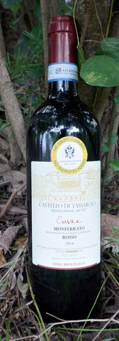 Castello Di Tassarolo Cuvée Monferrato DOC Rosso (no sulphites added) 2014