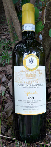 Castello Di Tassarolo Spinola Gavi DOCG (no sulphites added) 2015