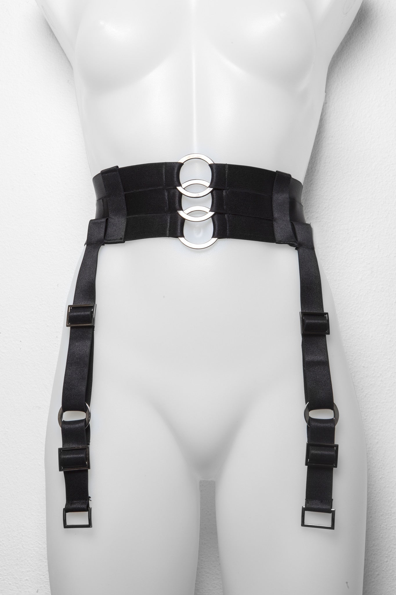 """Goetia"" High Waisted Garter Belt"