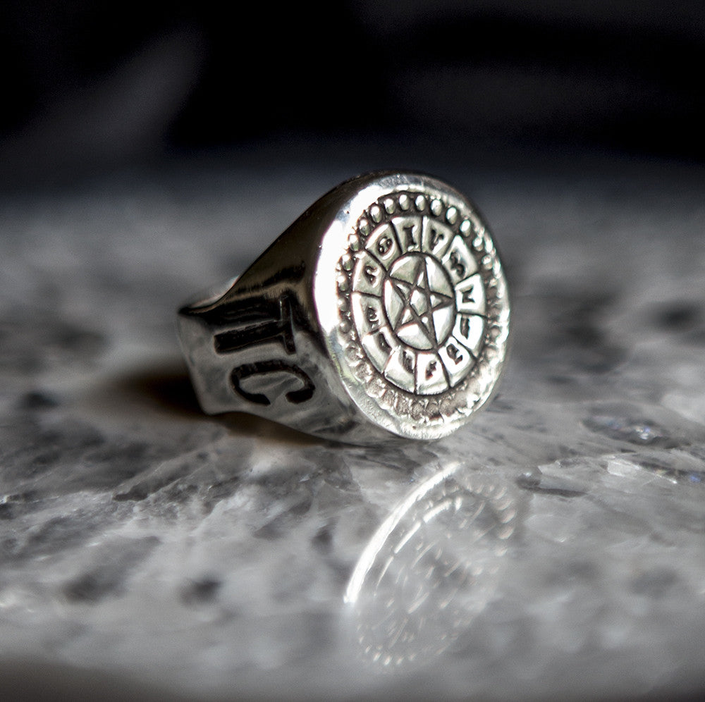 'Occultism' Tablet Ring