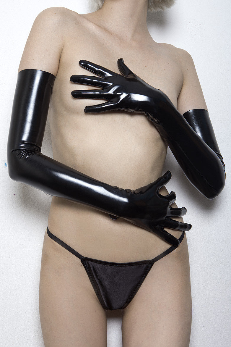 Posion Ivy Long Sleeve PVC Gloves