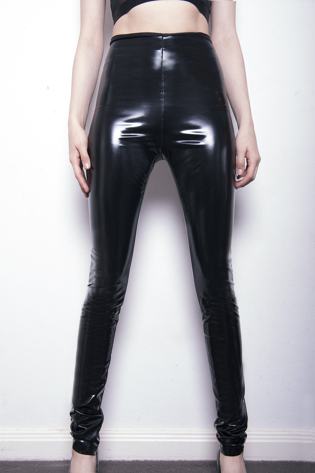 """Satan's Slicker"" PVC wetlook leggings"