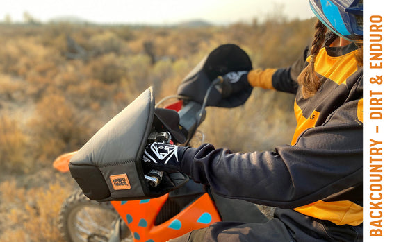 Backcountry are great for dirt and enduro bikes