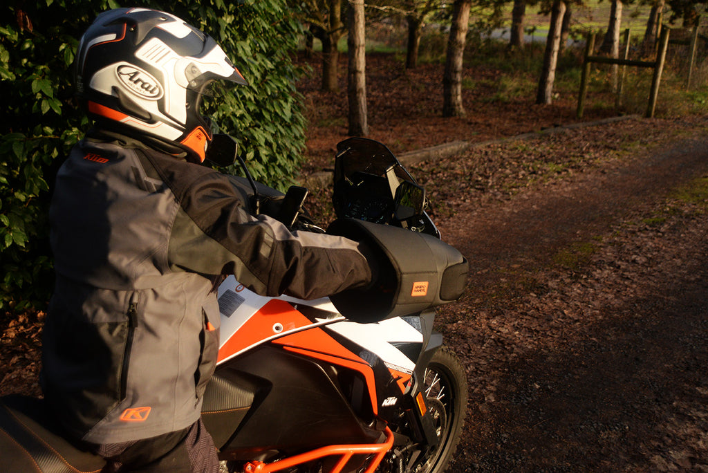 Alcan — Max coverage, ADV/touring motorcycle hand covers