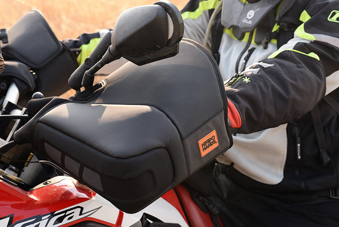 Rogue — Mid-sized, versatile motorcycle hand covers