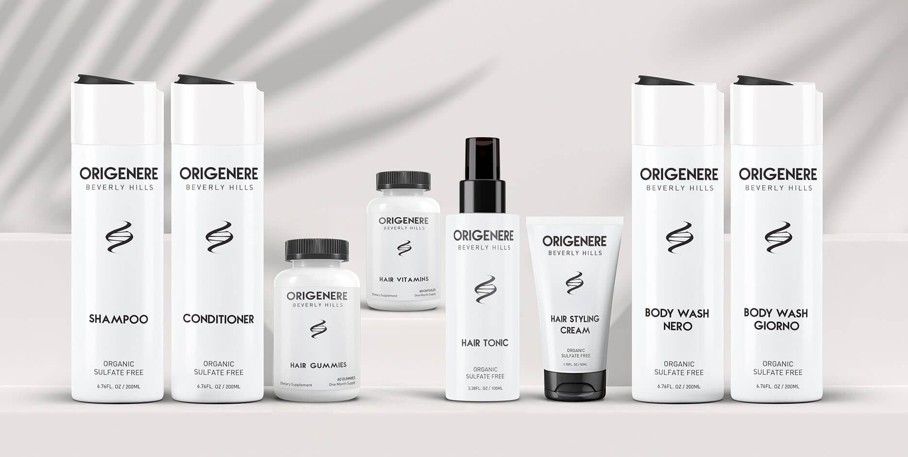 Origenere Hair and Skin Care Collection