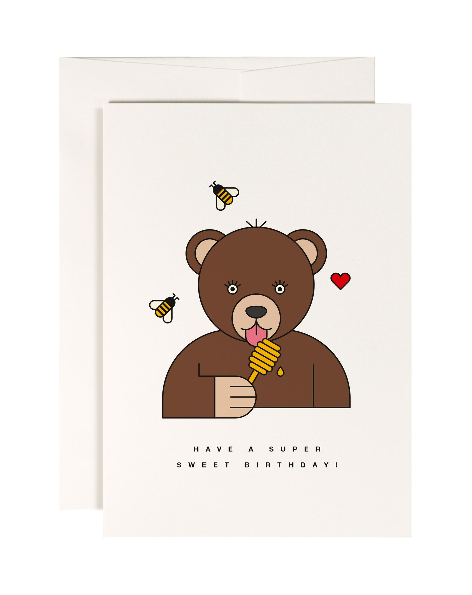 Super Sweet Birthday Bear Card