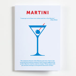 Martini Greetings Card