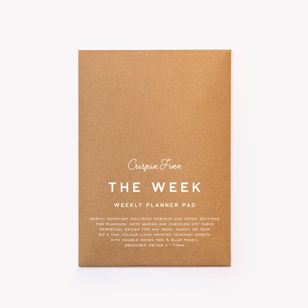 The Week Planner Notepad