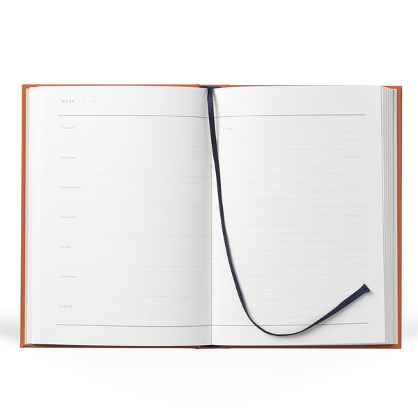 Even Weekly Journal Notebook