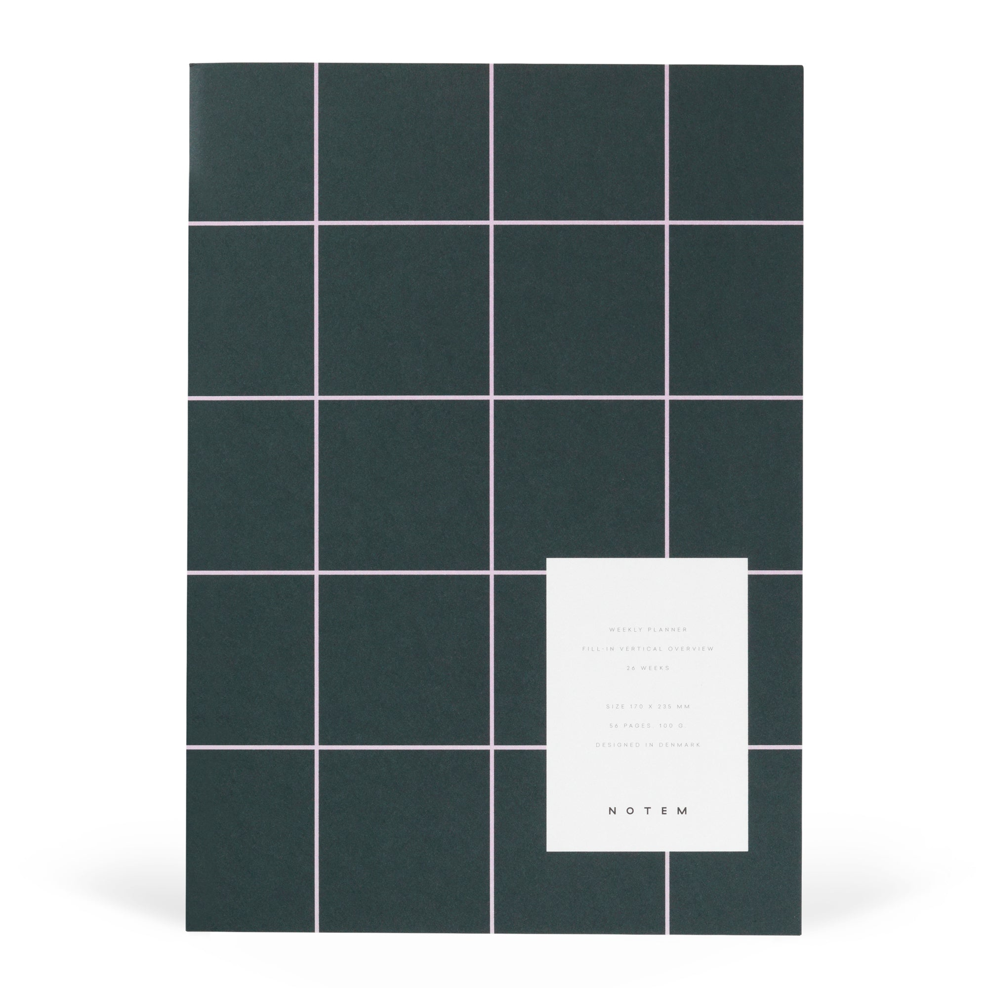 Milo Weekly Planner Notebook