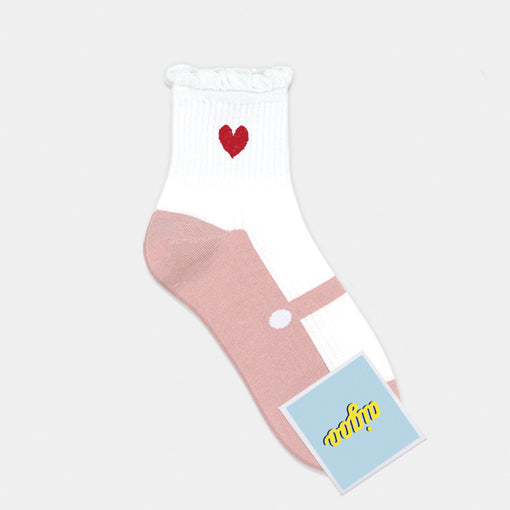 Heart Ankle Socks