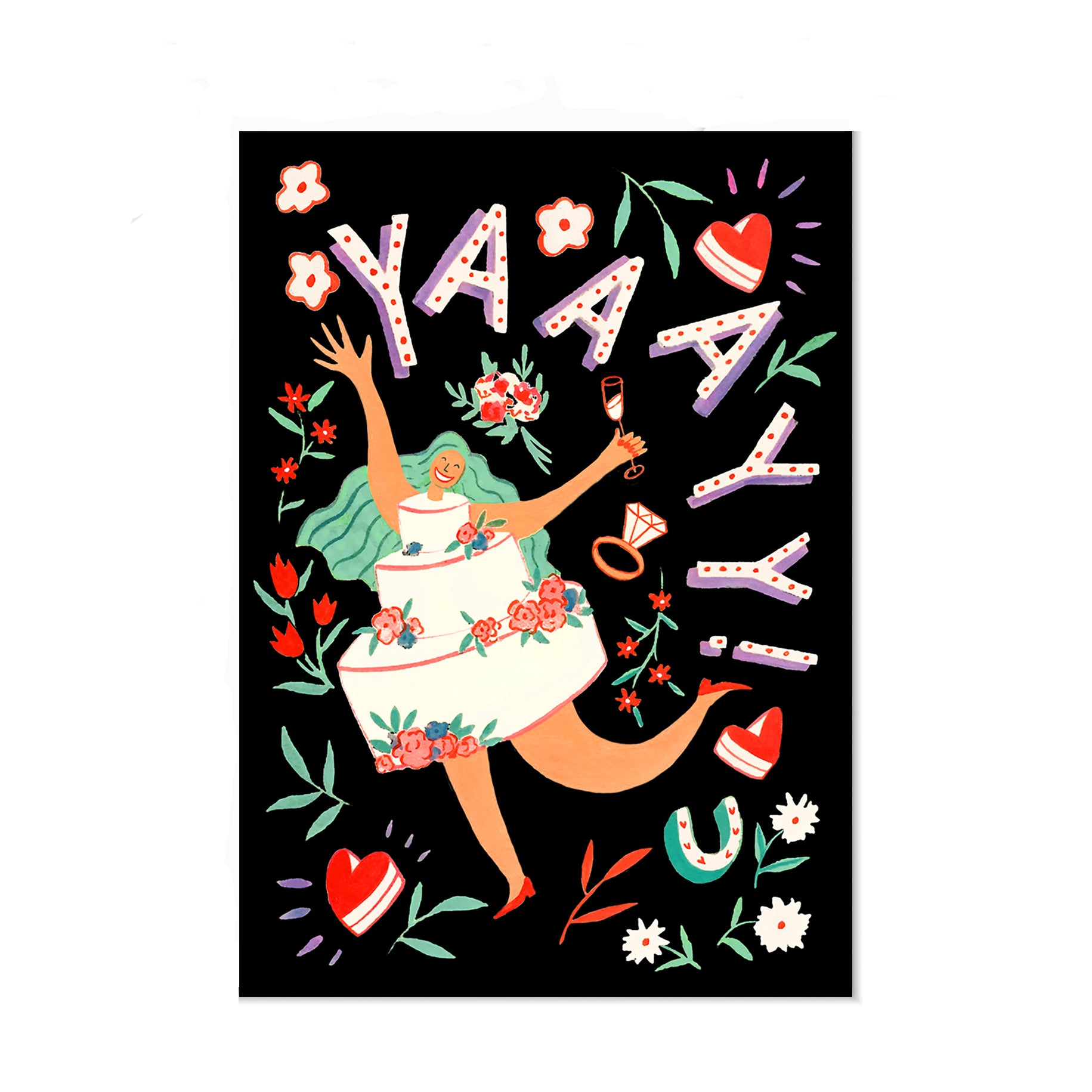 Yaaayy! Greeting Card