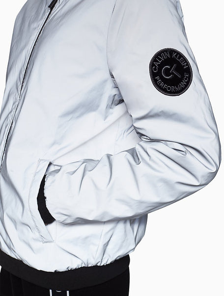 Calvin Klein Performance Reversible Quilted Bomber Jacket