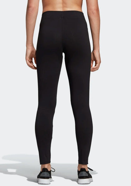 Adidas black essentials linear leggings