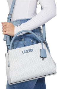 Guess Factory Bruna Logo Printed Satchel