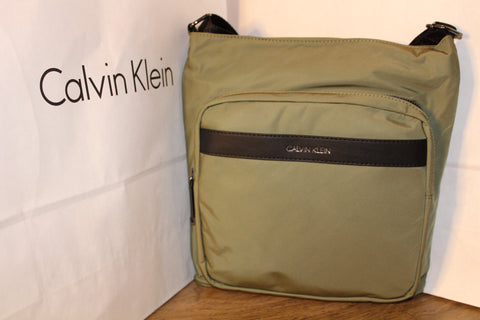 Calvin Klein Landon Nylon Messenger Bag
