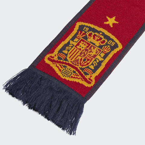 Adidas Bufanda Espa–a Spain Scarf Victory Red / Collegiate Navy / Semi Solar Gold