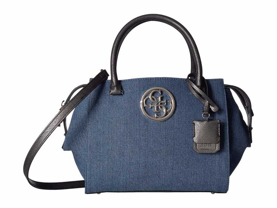 guess blue denim Ryann luxsatchelsatchel