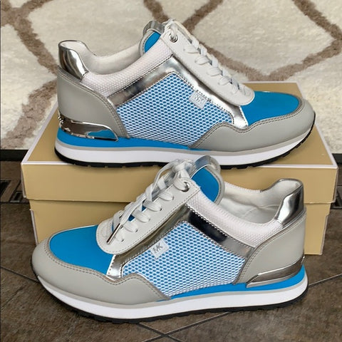 Michael Kors Maddy Trainer Mesh blue