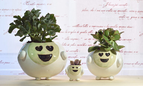 SMILING POT GREEN LOVE