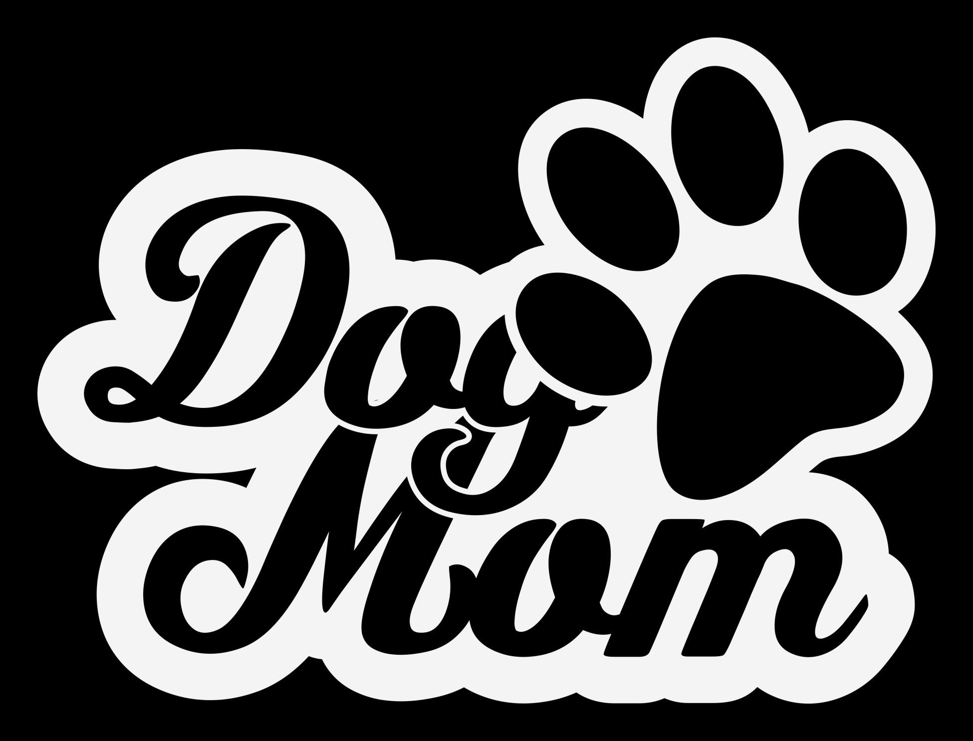 Dog Mom 12 Decal