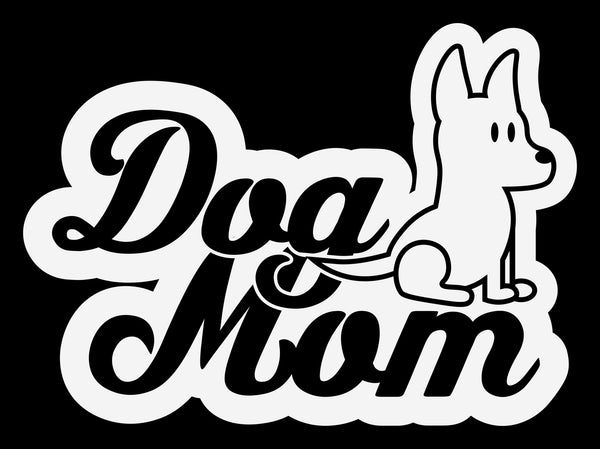 Dog Mom 7 Decal