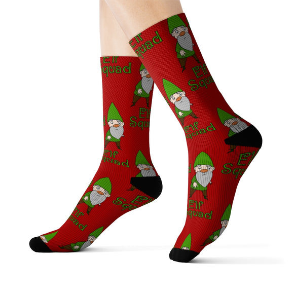 Elf Squad Socks: Young Elf