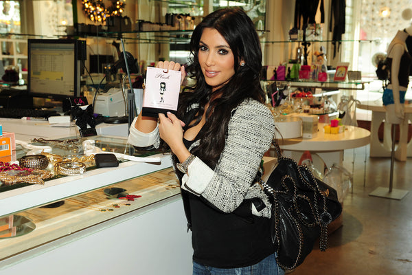 Kim Kardashian Shops for Plush