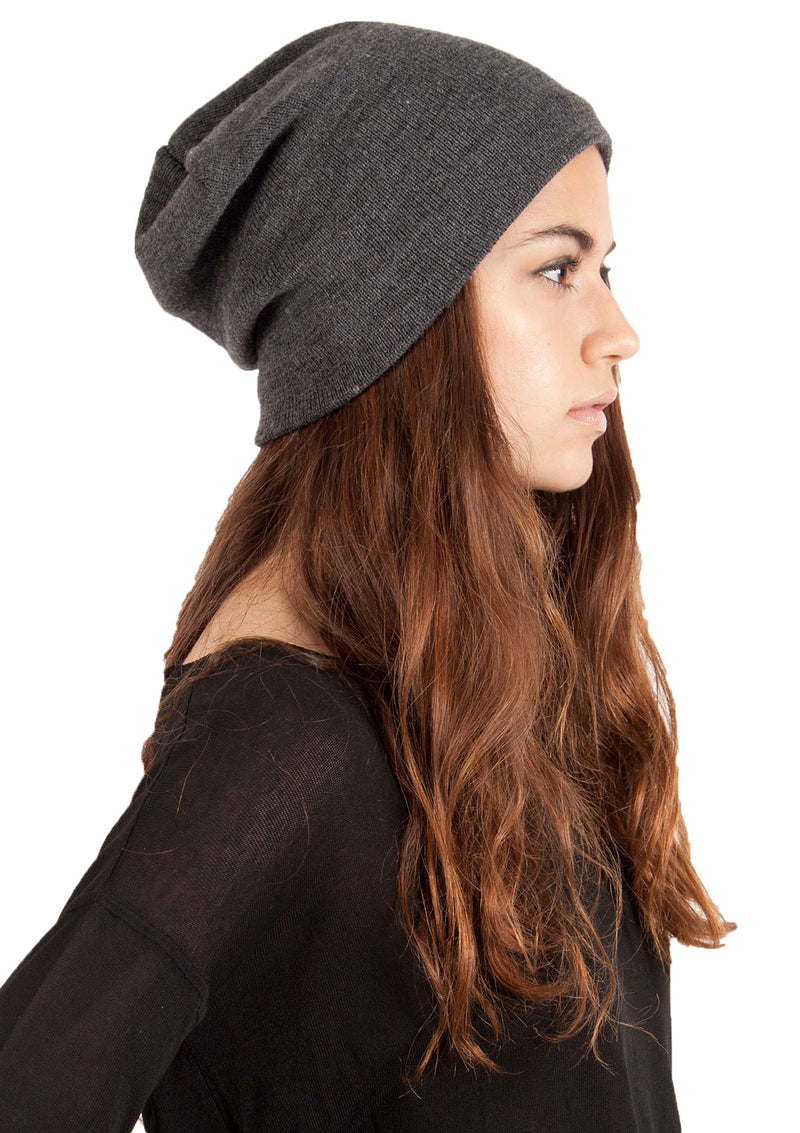 Fleece-Lined Slouchy Barca Hat