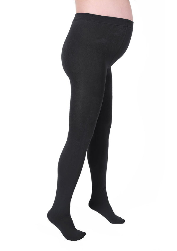 Maternity Full-Foot Fleece-Lined Tights