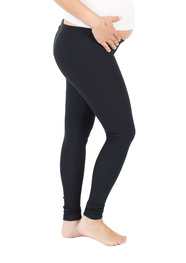 Maternity Fleece-Lined Under Belly Leggings
