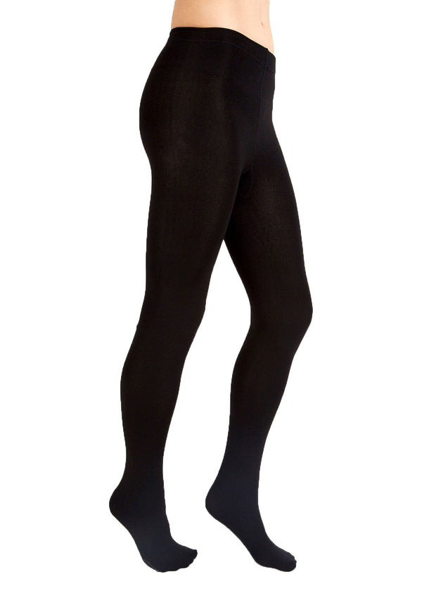 Fleece-Lined Full-Foot Tights