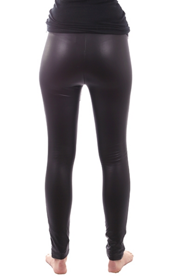 Maternity Fleece-Lined Liquid Over-Belly Legging