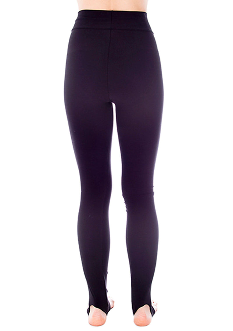 Fleece-Lined Matte Spandex Stirrup Legging