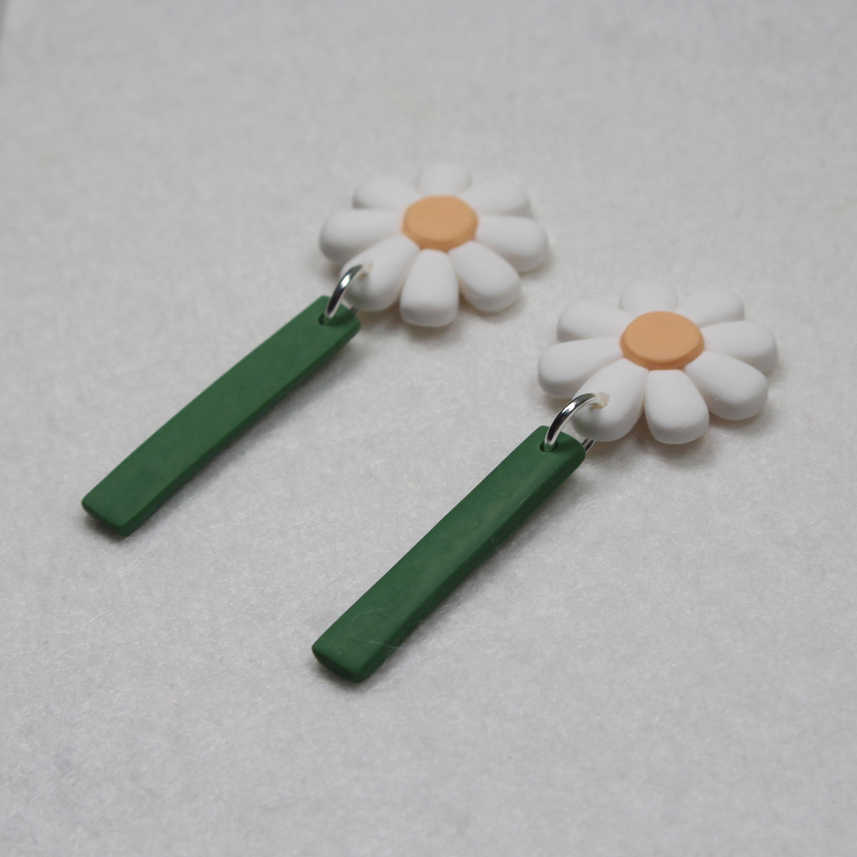 Daisy Dangle Stud Earrings
