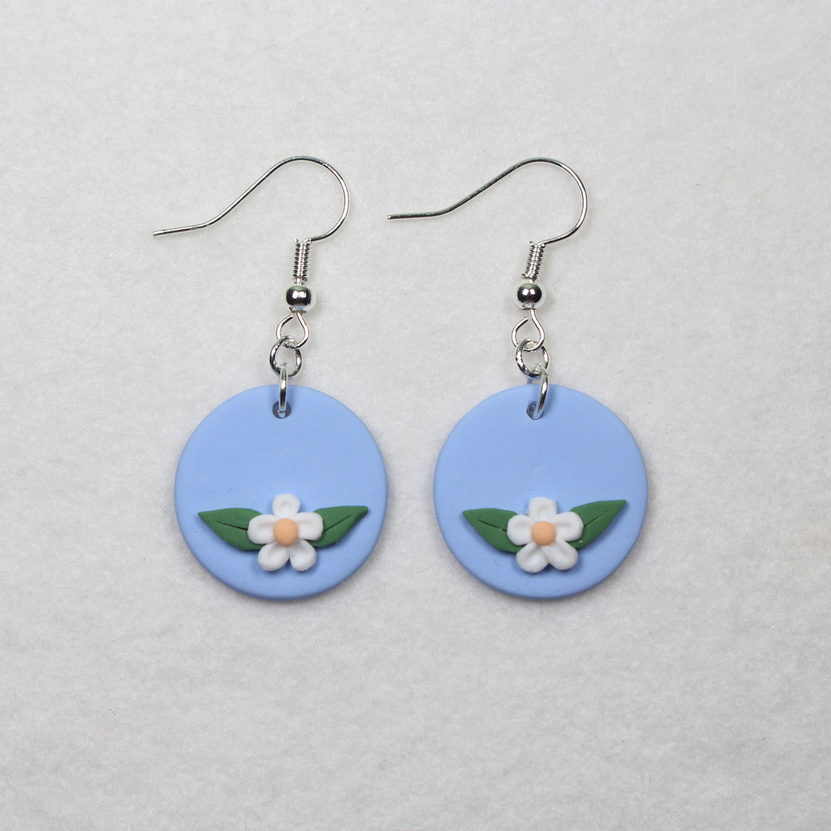 Daisy Fields Discs Hook Earrings
