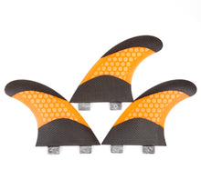 Load image into Gallery viewer, FCS Fins Thruster - Bondi Beach Surf Fins - Carbon Fiber Fins 7