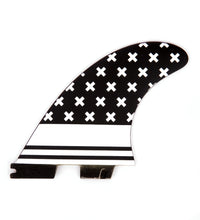 Load image into Gallery viewer, FCS2 Fins Thruster - No Mans Land Fins - Fiberglass Fins G5 White 1