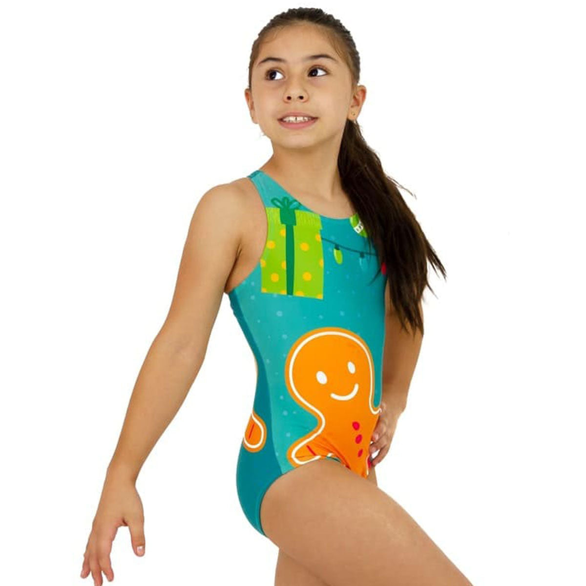 GINGER COOKIE RACERBACK LEOTARD