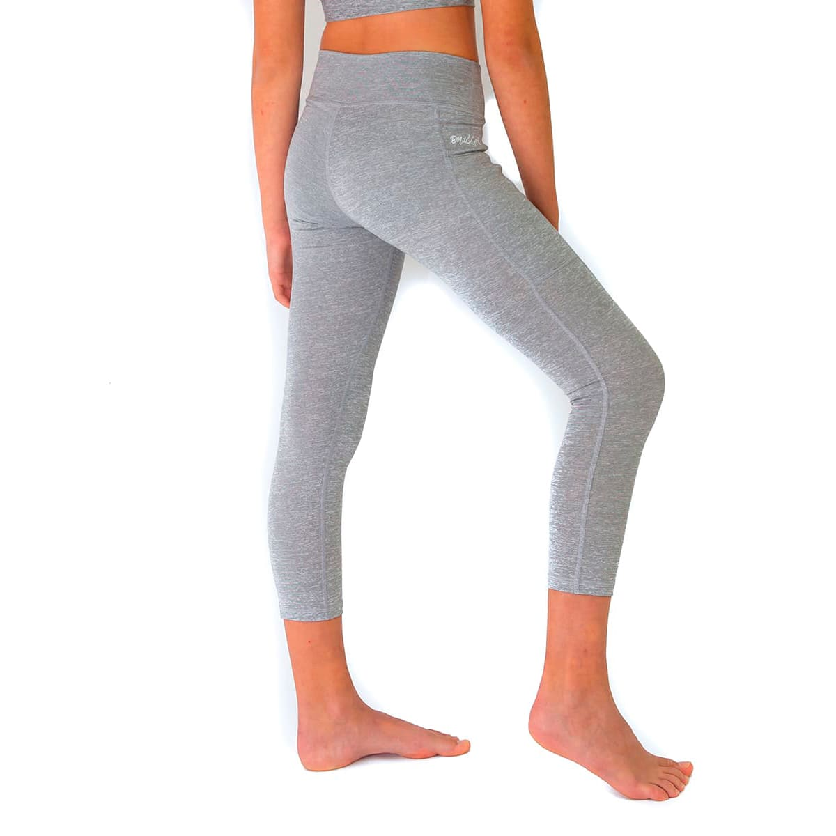 GIRL'S ENERGY  SILVER LEGGINGS