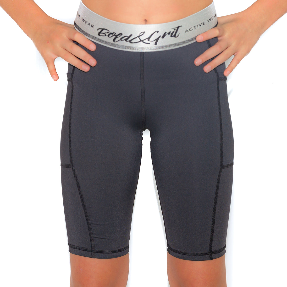 GIRL'S BELIEVE BIKE SHORT