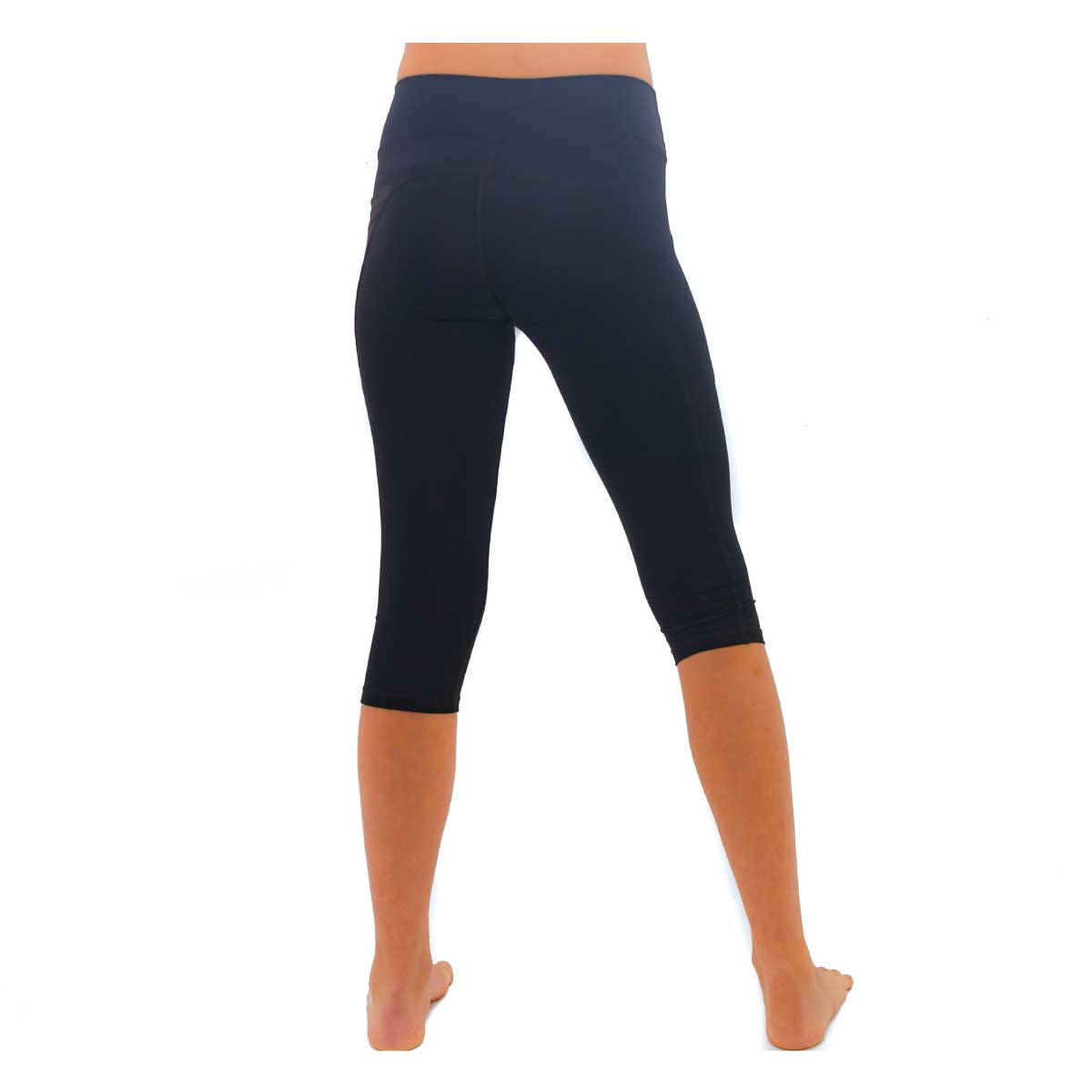 GIRL'S BELIEVE CROPPED LEGGINGS