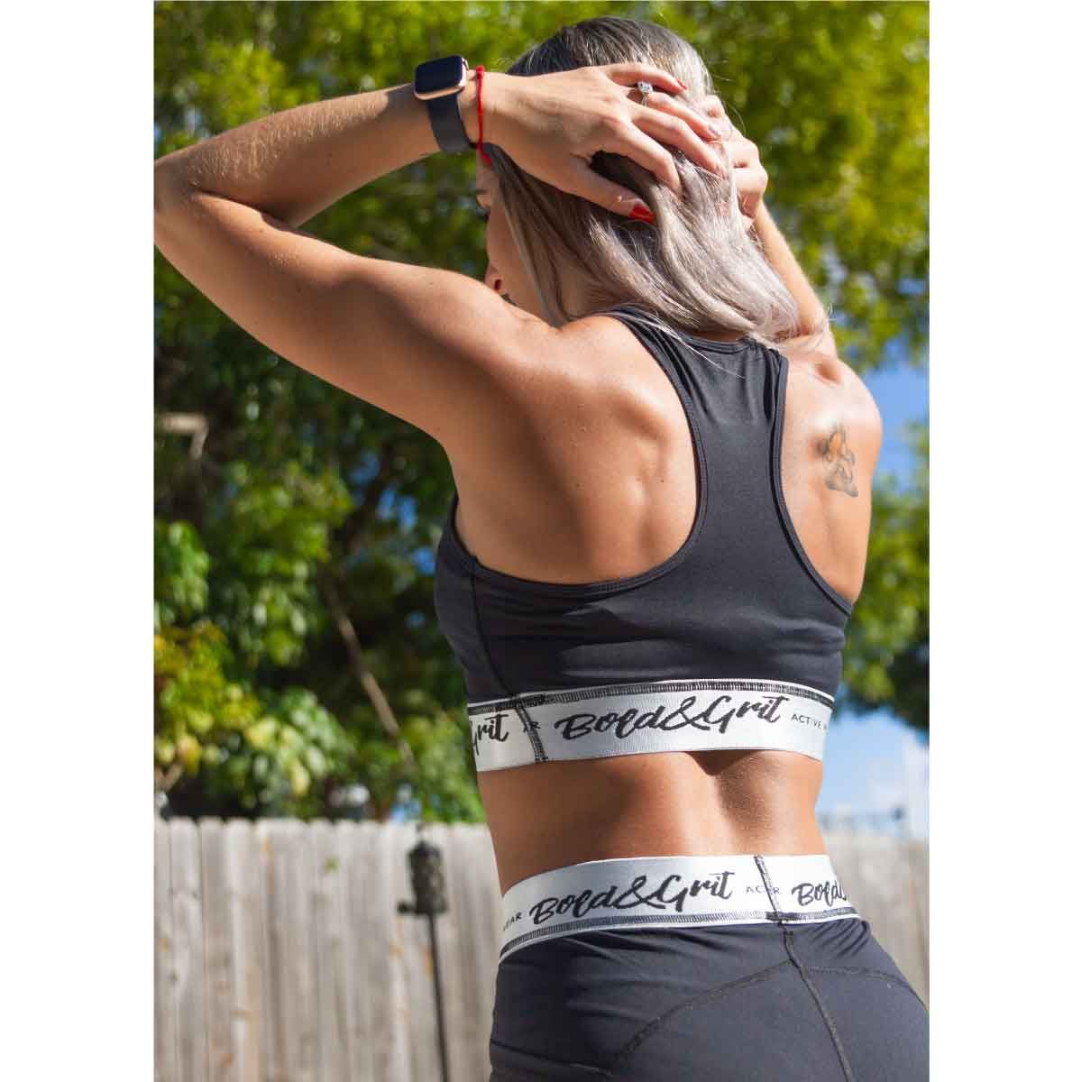 WOMEN'S BELIEVE RACERBACK SPORTS BRA