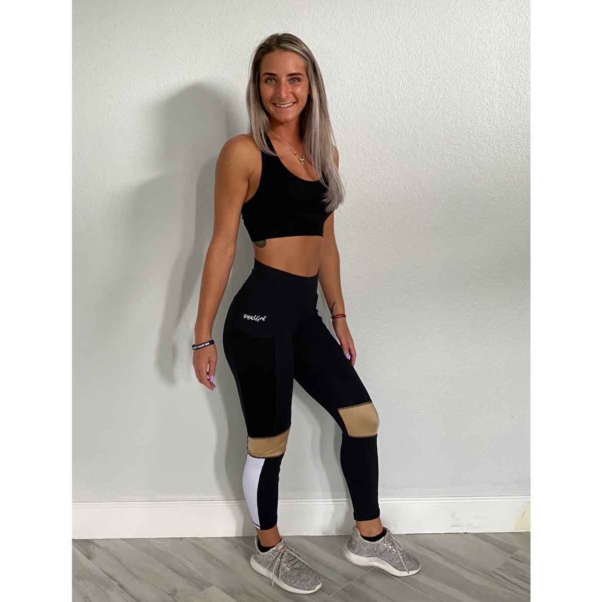 WOMEN'S ENERGY GOLD LEGGINGS
