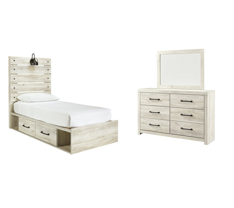 Cambeck Signature Design 5-Piece Youth Bedroom Set with 2 Storage Drawers