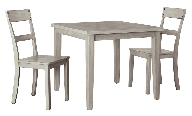 Loratti Signature Design 3-Piece Dining Room Package
